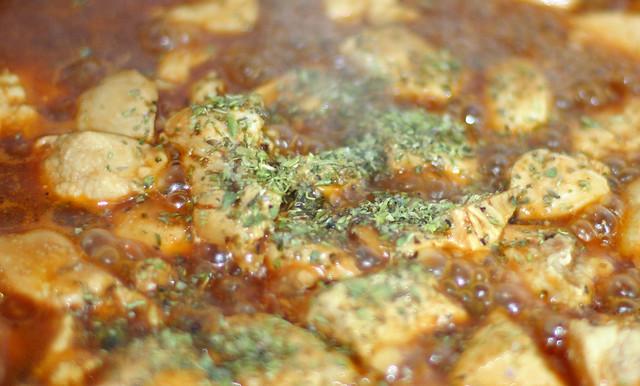 Pollo con Salsa BBQ (9)