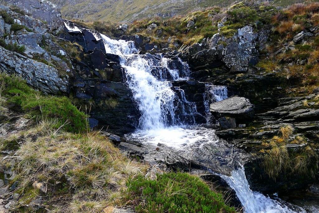 Falls below Beinn Dearg