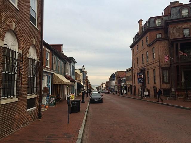 Quaint Annapolis street