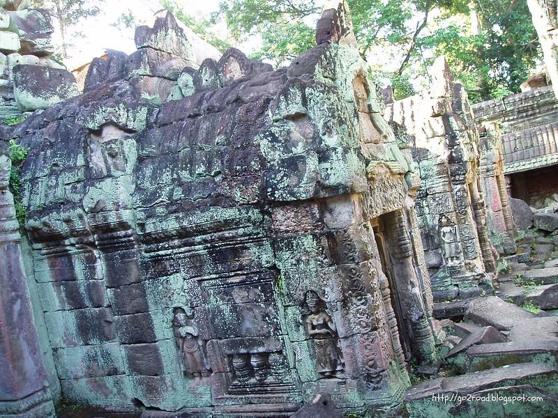 Строения Пре Кана в Ангкоре