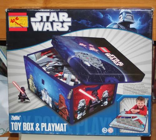 La bo te de rangement lego star wars ma collection de lego - Caisse de rangement lego ...