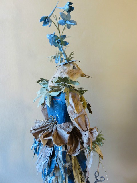 Two Years in the Forest - Sparrow Paper Sculpture