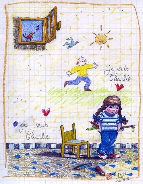 JeSuisCharlie - Les enfants - Emily Nudd-Mitchell