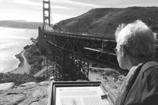 Golden Gate Bridge - Vista Point info