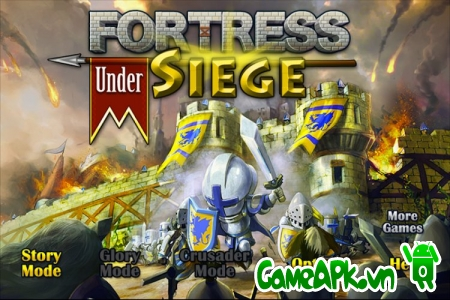 Fortress Under Siege v1.05 hack full tiền cho Android