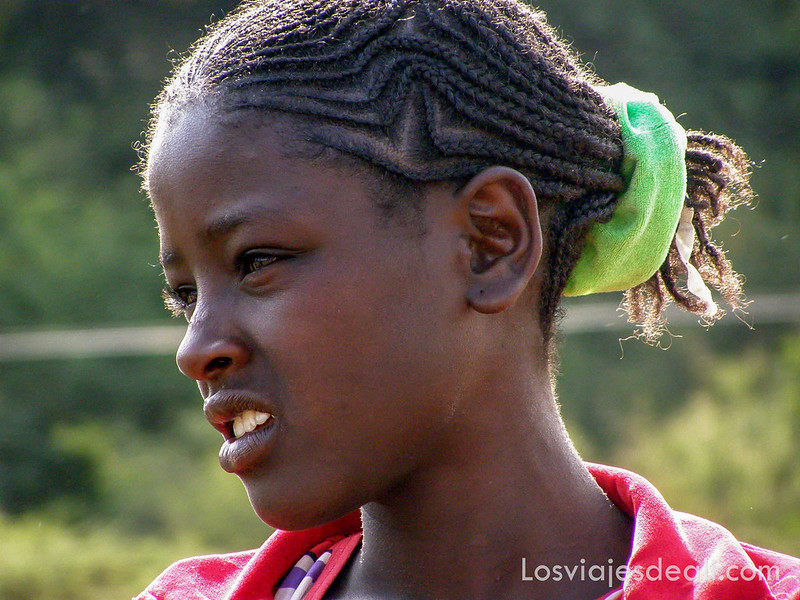 niña etíope