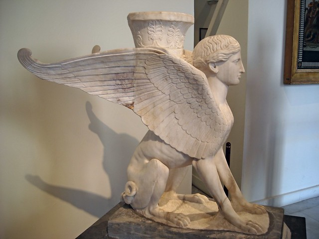 The House of the Faun in Pompeii: Sphinx - Naples, Archaeological Museum