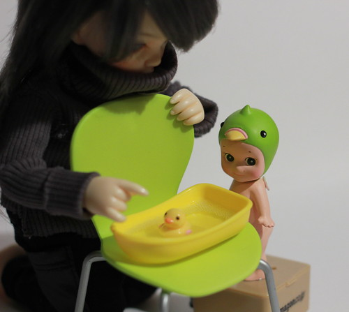 A Doll a day-3.Rubber duck