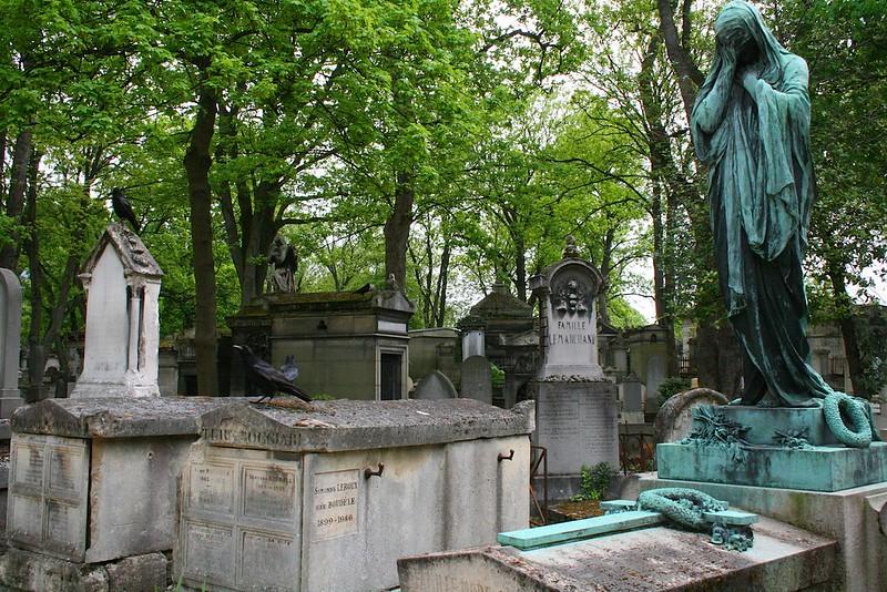 Monmartre's cemetery