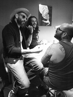 Life at Fisherman tattoo club david morrison paco alx tramp