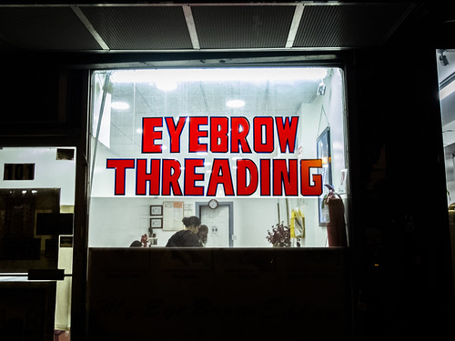 EYEBROW THREADING | by wwward0