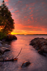 Sunrise on the Rock Harbor Channel