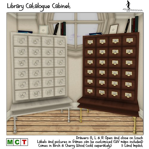 Library Catalogue Cabinet