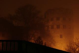 Schloss im Nebel, Heidelberg