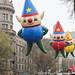Kit, Charlie & C.J. Elf Balloons at Macy's Thanksgiving Day Parade