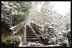 日本京都-金閣寺-雪.67