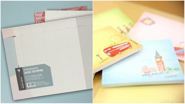 paperways collage planner and sticky notes