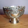 Vintage FB Rogers Silver Plate Pedestal Bowl