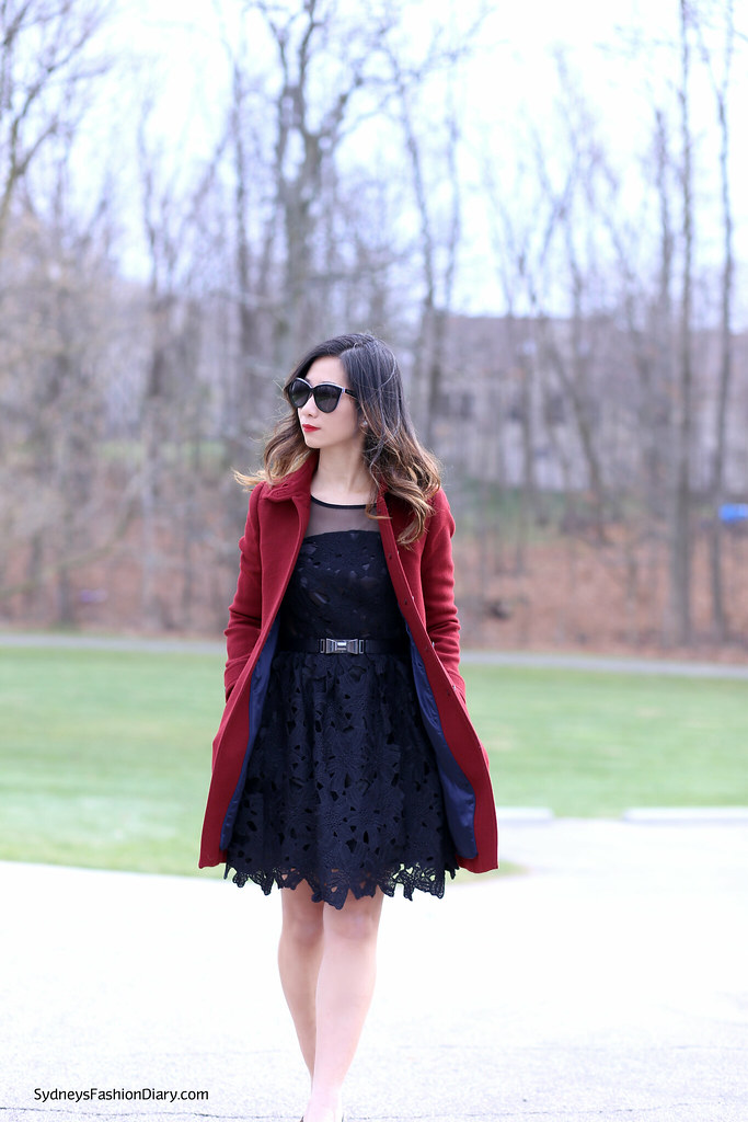 SydneysFashionDiary_JCrew Burgundy Coat