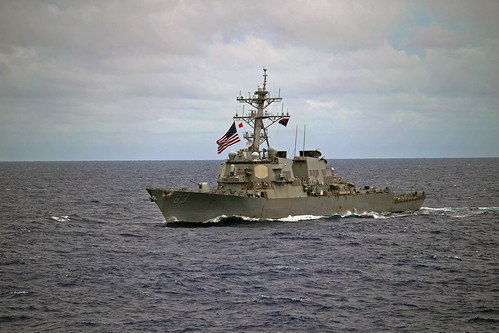 USS Stethem Enhances ASW Skills during SHAREM