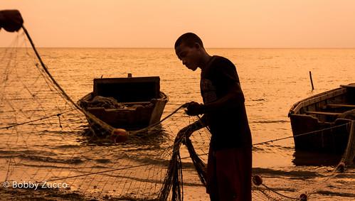 sunset fish fisherman dominicanrepublic dr bobby tarde pescador 2011 montecristi zucco bobbyzucco pedrozucco