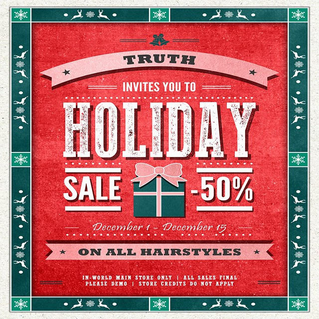 TRUTH 50% Sale