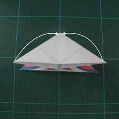 การพับกระดาษเป็นผีเสื้อแบบง่ายๆ (Easy Origami Butterfly) 005
