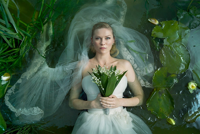 Kirsten Dunst in Lars Von Trier's Melancholia © Magnolia Pictures, 2011