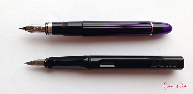 Review: OMAS Ogiva Alba Fountain Pen - EF Extra Flessible @OMASsrl @couronneducomte @GouletPens