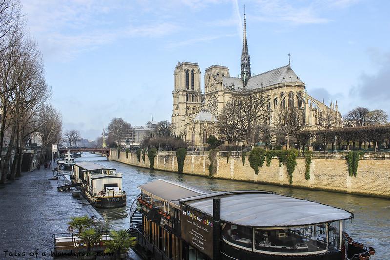 PARIS - La Seine / Cathédrale Notre-Dame de Paris