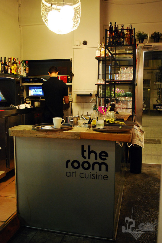 The room art cuisine Barra