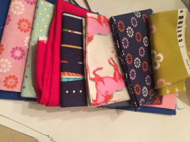 knitting bags, set 2