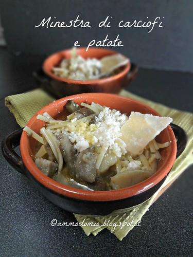 Minestra di carciofi e patate