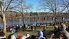 Washington Crossing the Delaware 2014 (Rehearsal)