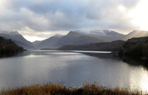 728 Llyn Padarn Snow