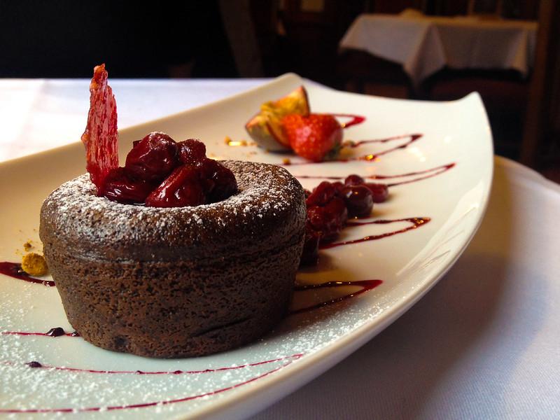 Walt's - An American Restaurant Fondant Dessert