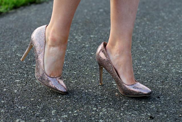 Dorothy Perkins Glitter Heels (2)