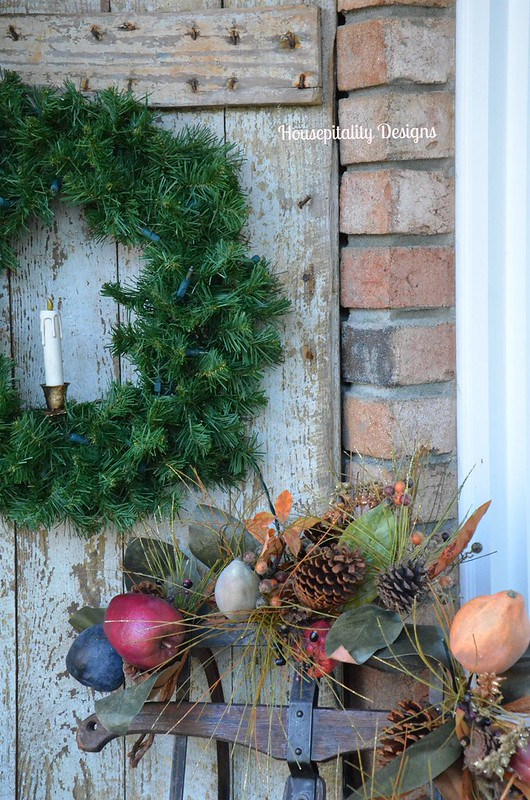Front Porch Decor-Christmas 2014-Housepitality Designs