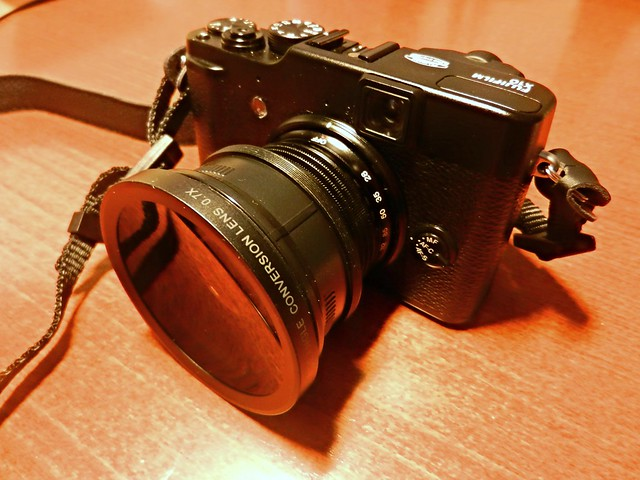 X10 and Wide Angle Adapter
