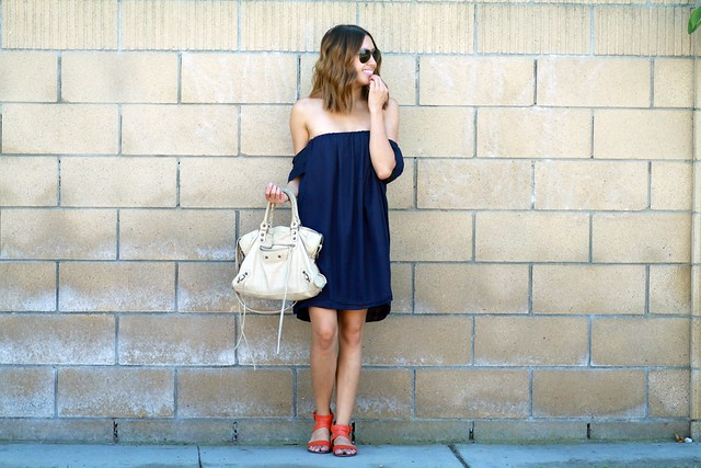 lucky magazine contributor,fashion blogger,lovefashionlivelife,joann doan,style blogger,stylist,what i wore,my style,fashion diaries,outfit,tube top dress,summer style,shop tobi,street style,steve madden,balenciaga,zerouv