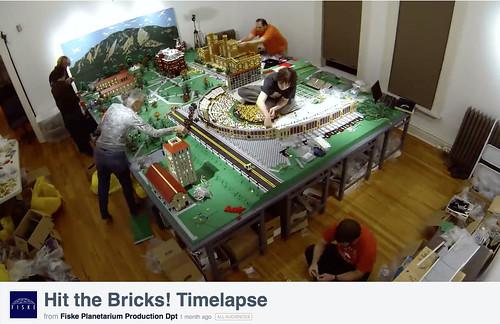 Hit the Bricks! Timelapse