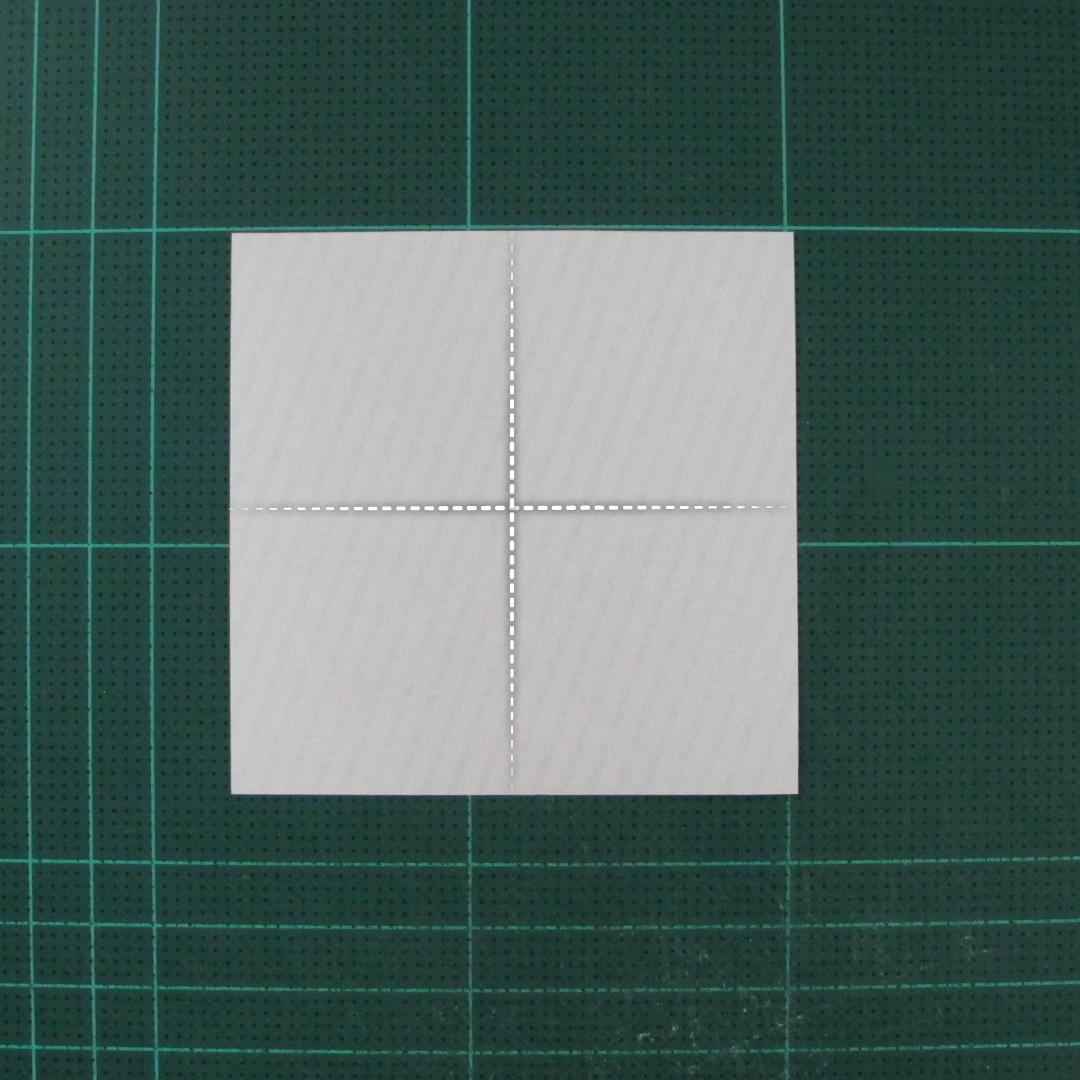 วิธีทำหรีดห้อยหน้าประตูสำหรับวันคริสต์มาส (Christmas wreath origami and papercraft) 002