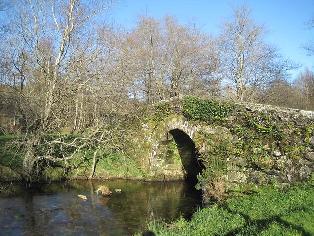 Ponte Vella de Andón en Forcarei