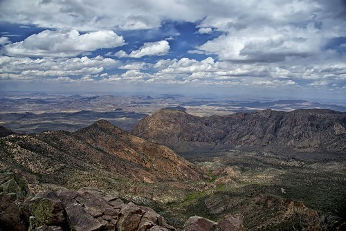 From the Top of Big Bend National Park!