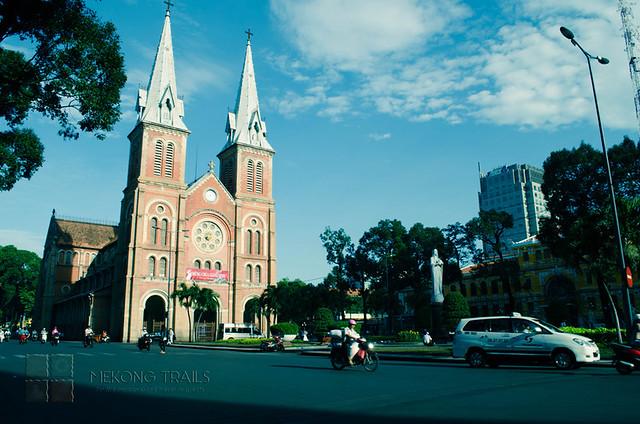 North Dame Cathedral, Saigon City