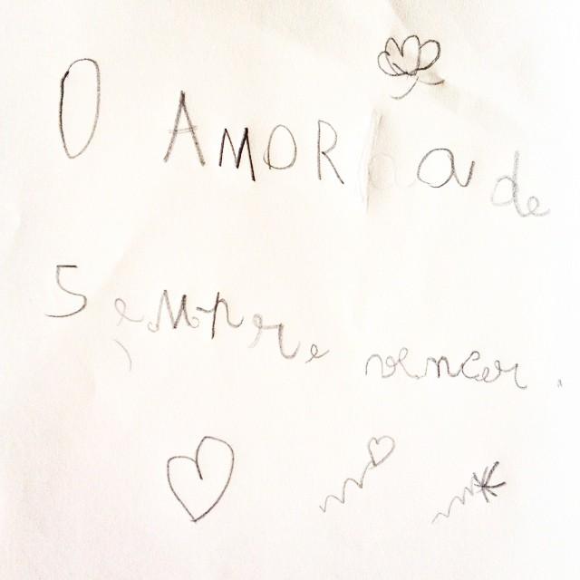 O que 6 anos de vida ensinam sobre o amor:) #vidademae #miudasgiras #amor