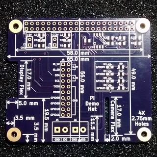 Low Voltage Labs Pi Demo HAT top side