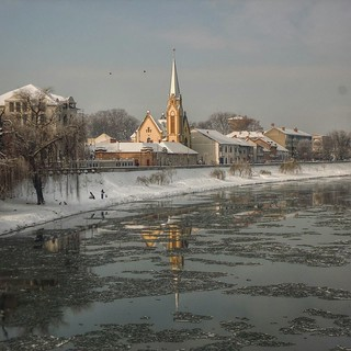 Winter in Lugoj, Romania