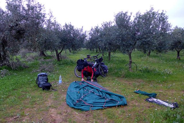 sicilya campobello wild camping