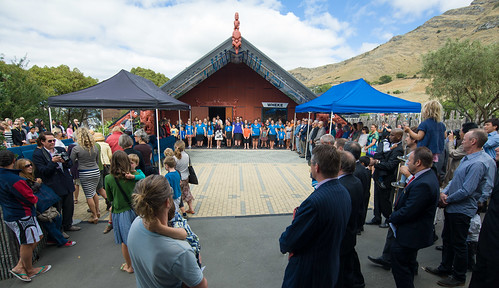 Rapaki Marae citizenship ceremony